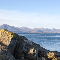 Rocks (no submarine) and Cuillin Hills Winter